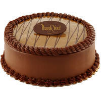 Tempting fresh Chocolate flavor Eggless Cake