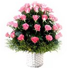 Elegant Bunch of Pink Roses