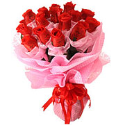 Long Lasting � Red Roses Bouquet