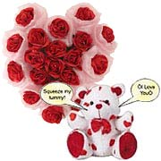Sophisticated Authentic Love Gift Arrangement