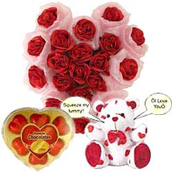 Flowering Love Paradise Gift Set