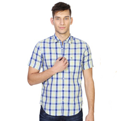 Fashionable Peter England Checkered Shirt for Men