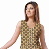 Remarkable Yellow and Red Crepe Unstitched Salwar Suit