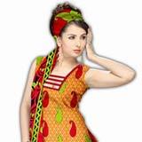 Sensational Multicolor Crepe Unstitched Salwar Suit