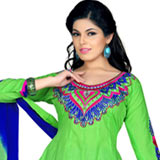 Admirable Salwar Suit with Excellent Display of Embroidery Work