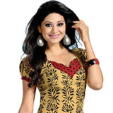 Admirable American Crepe Printed Un-Stitched Salwar Suit