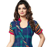Appealing Crepe Printed Salwar Suit with Breathtaking Beauty