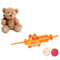 Fetching Kid Rakhi With Teddy Combo