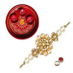 Exclusive Rakhi With Rakhi Thali