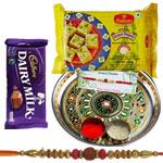 Attractive Rakhi Hamper Gift Set