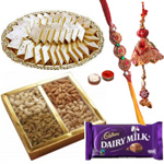 Appealing Rakhi Delight Hamper
