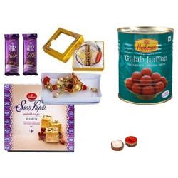 Sizzling Strong Bond Rakhi Gift Hamper
