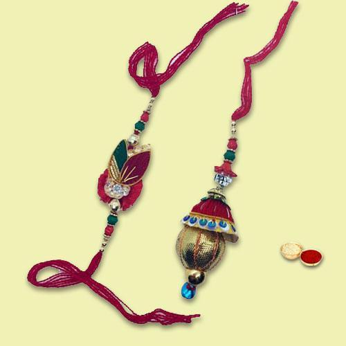 Exclusive Twin Rakhi Gift Set