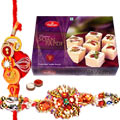 Tasty Haldirams Soan Papdi with Rakhis