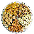 Delicious 250 Gms. Assorted Dry Fruits for Sister