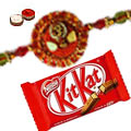 1 Rakhi with kitkat minis 8 oz