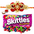 Kids Rakhi with Skittles 2 oz