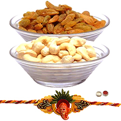 Dainty Dry Fruit Rakhi Convention