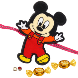 Designer Mickey Mouse Rakhi