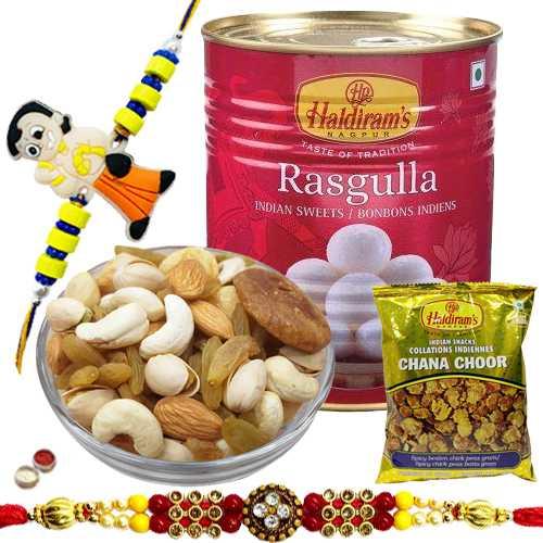 Impressive Festive Fiesta Rakhi Hamper Collection