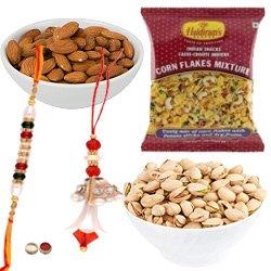 Remarkable Time to Rejoice Rakhi Gift Hamper