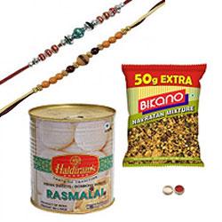 Everlasting Rakhi Fortune Gift Hamper