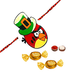 Trendy Angry Bird Kid Rakhi