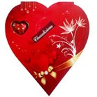 Send Red Heart Shape Pack of Assorted Homemade Chocolates to Kerala