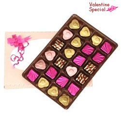 24pcs Home made Assorted chocolate