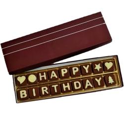 Yummy Happy Birthday Delightful Homemade Assorted Chocolates