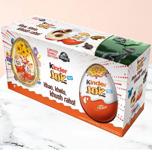 Amazing Pack of 6 Pcs. Chocolates from Kinder Joy