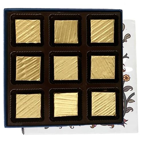 9 Pcs. Mouth Melting Assorted Homemade Chocolates