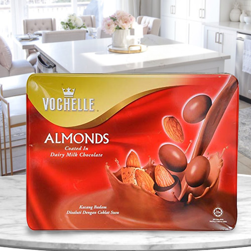 Classic Vochelle Almond Chocolates with a Hint of Delicacy