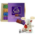 Scintillating Chocolate n Teddy Gift Hamper