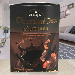 Tantalizing Date-Almond Chocolates