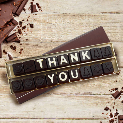 Thank You SMS Homemade Chocolate