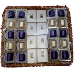 Beautiful Tray of 28 Handmade Chocolates