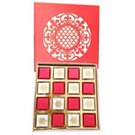 16 Pcs. Handmade Chocolates in a Red Box