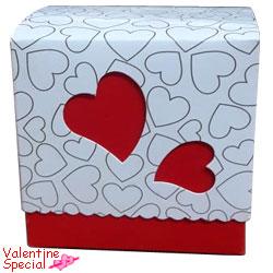 Delightful Heart Shape Homemade Chocolate Box