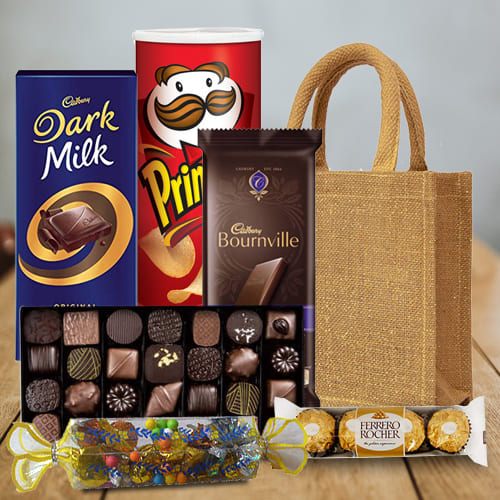 Online Assorted Chocolates Gift Hamper