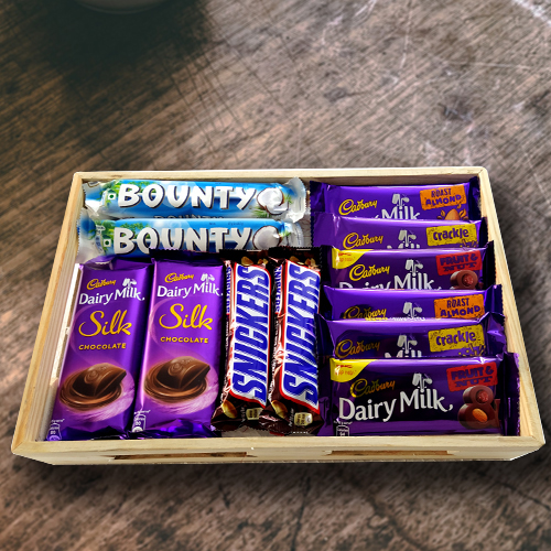 Deliver Hamper of Mixed Chocolates for Birthday