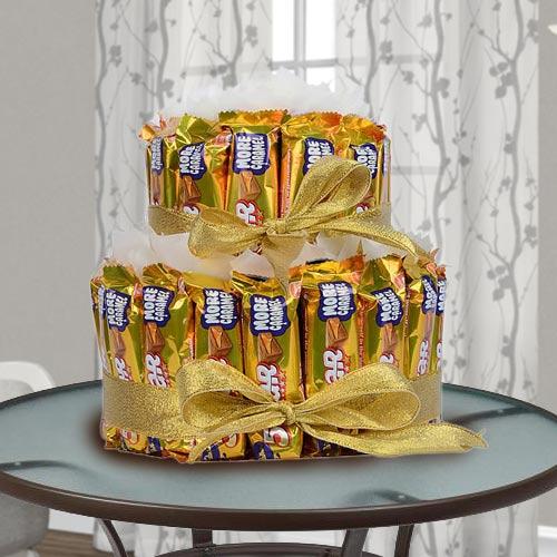Enticing 2 tier Arrangement of Cadbury 5 Star