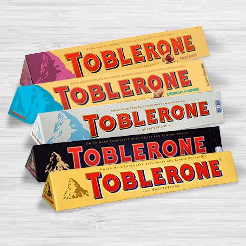 Exclusive Assorted Toblerone Chocolates