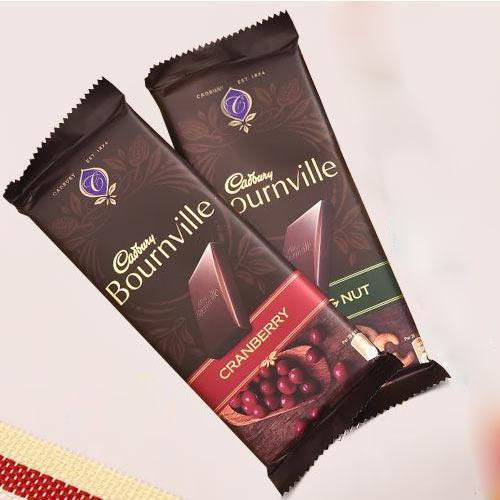 2 pcs Cadbury Bournville Chocolates