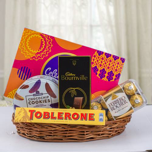 Marvelous Chocos Gift Basket