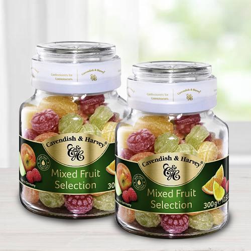 Tasty Cavendish  N  Harvey Mixed Fruit Selection Duo