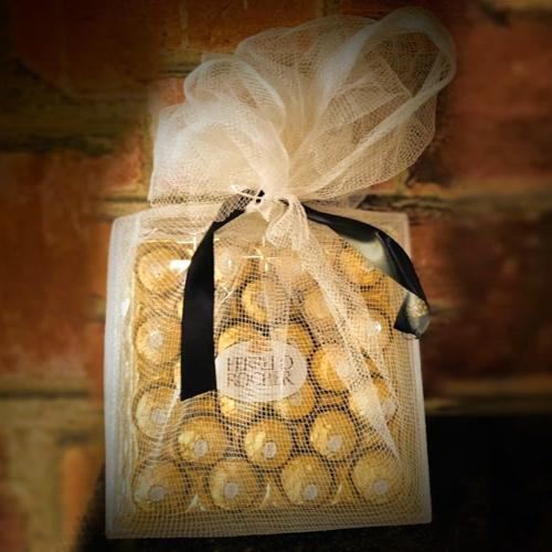 Indulgent Net Wrapped Ferrero Rocher Gift Pack