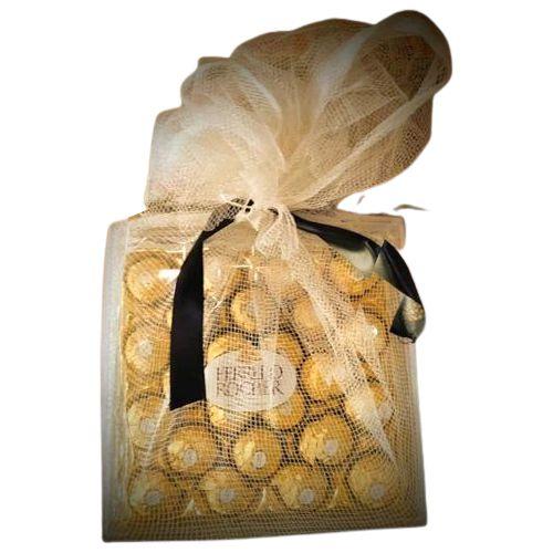 Indulgent Net Wrapped Ferrero Rocher Gift Pack