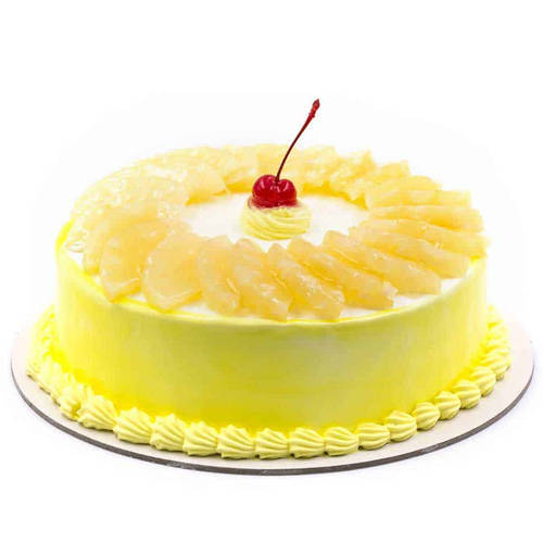 Sublime Pineapple Cake from Taj or 5 Star Hotel Bakery