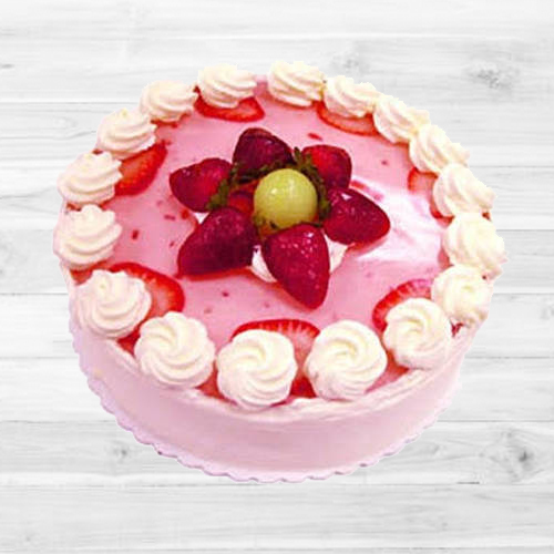 Delightful Strawberry Cake